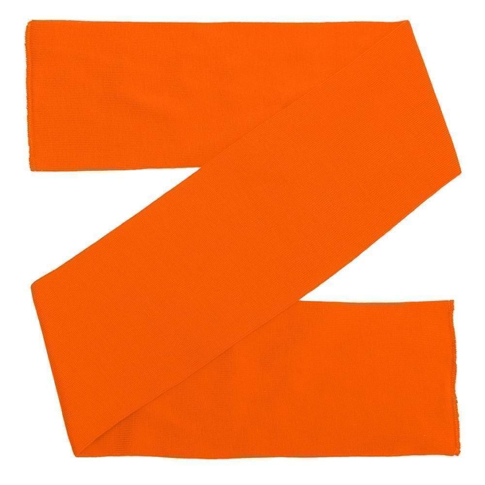 USA Made Knit 8 Inch Scarf Orange,  99S608-BOR
