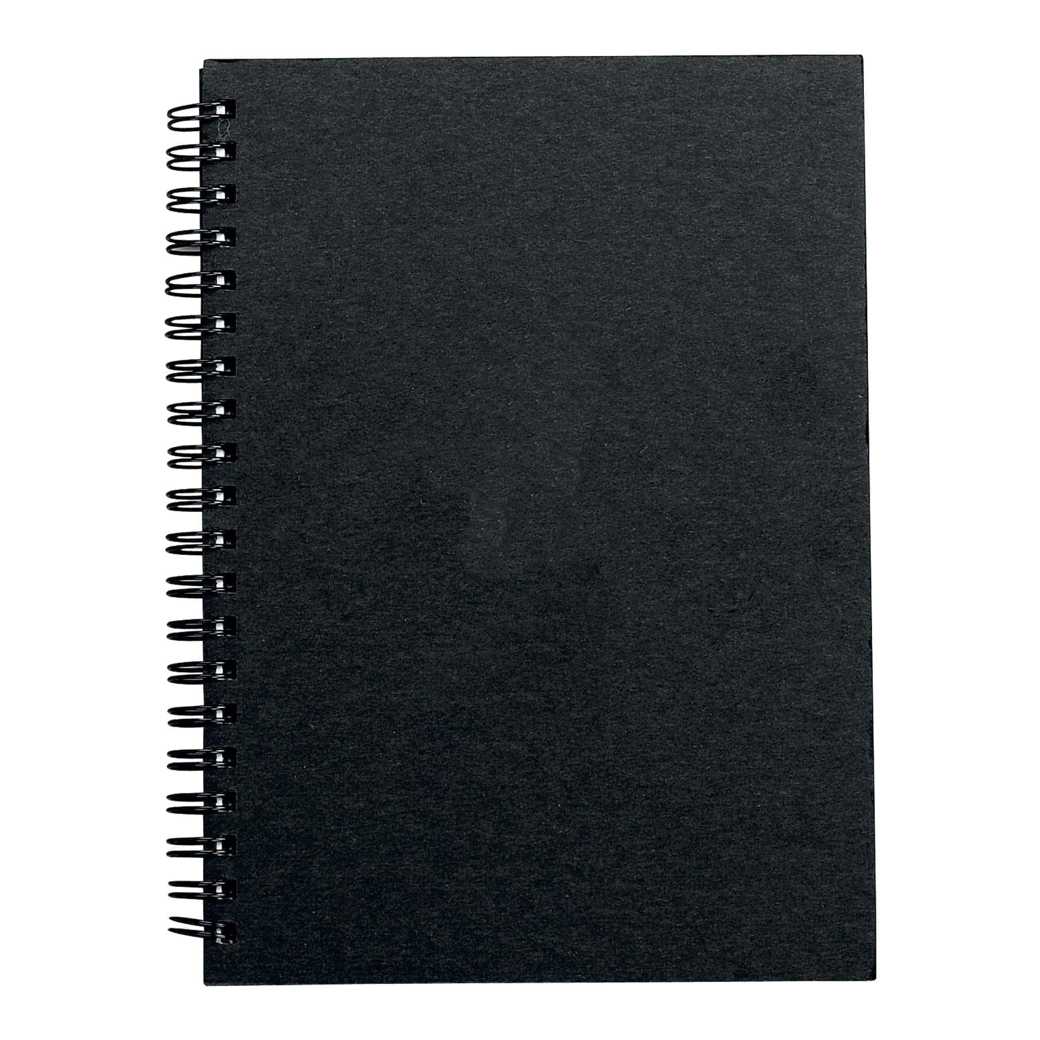 """5"""" x 7"""" Journal with 50 Sheets-Black"""