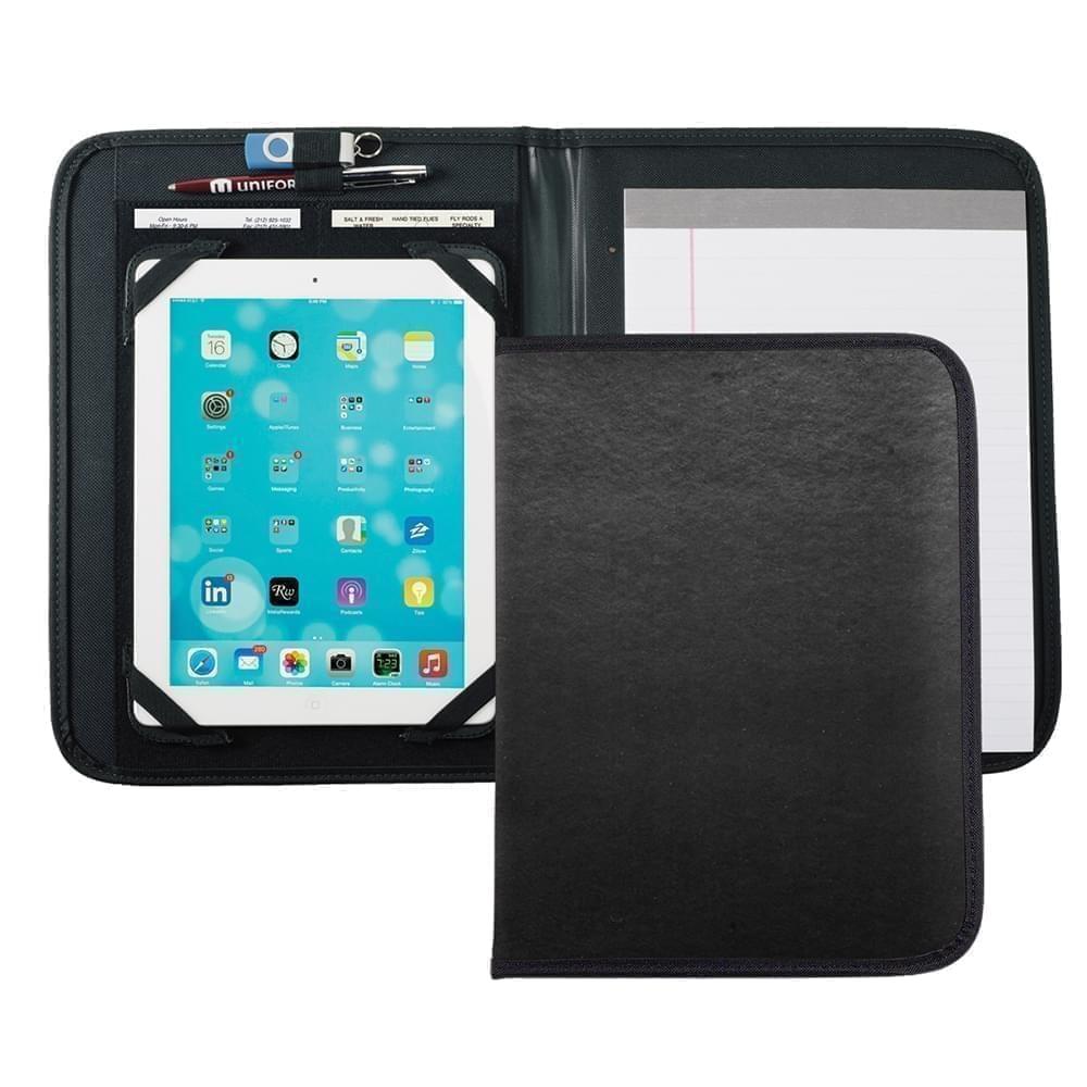 Tribeca Tablet Folio-Polished-Black