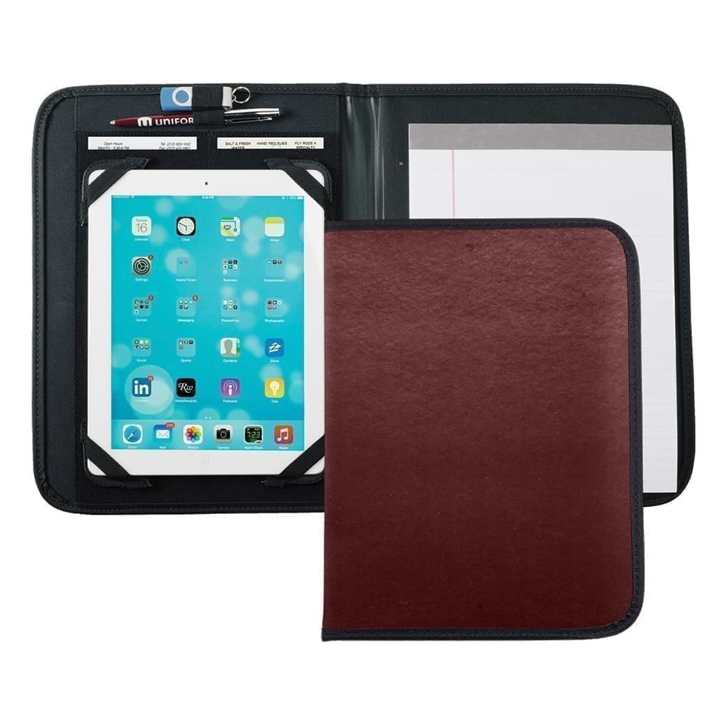 Tribeca Tablet Folio-Polished-Burgundy