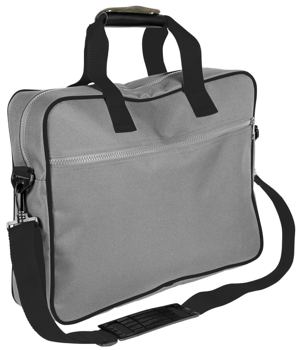 USA Made Nylon Poly Notebook Sleeves, Grey-Black, CPKVA59P1R
