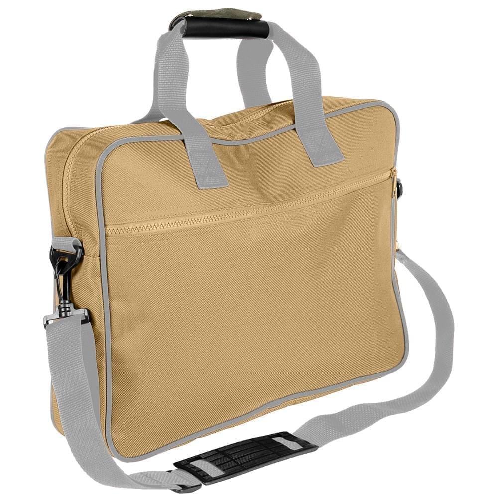 USA Made Nylon Poly Notebook Sleeves, Khaki-Grey, CPKVA59P2U