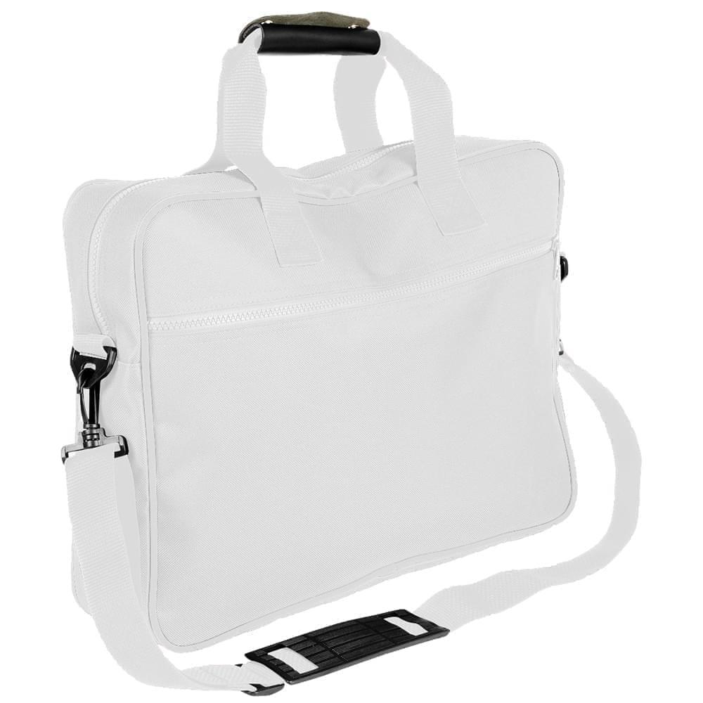 USA Made Nylon Poly Notebook Sleeves, White-White, CPKVA59P34