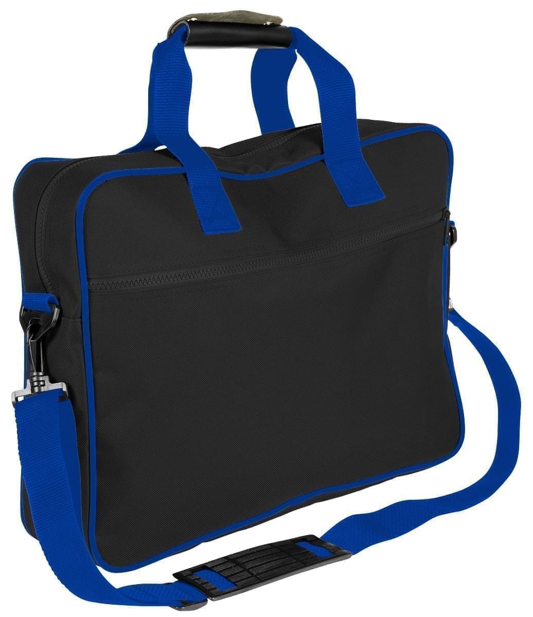 USA Made Nylon Poly Notebook Sleeves, Black-Royal Blue, CPKVA59PO3