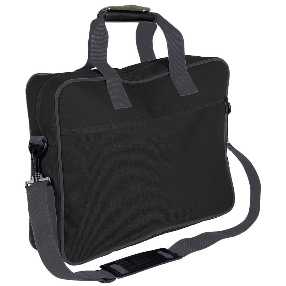 USA Made Nylon Poly Notebook Sleeves, Black-Graphite, CPKVA59POT