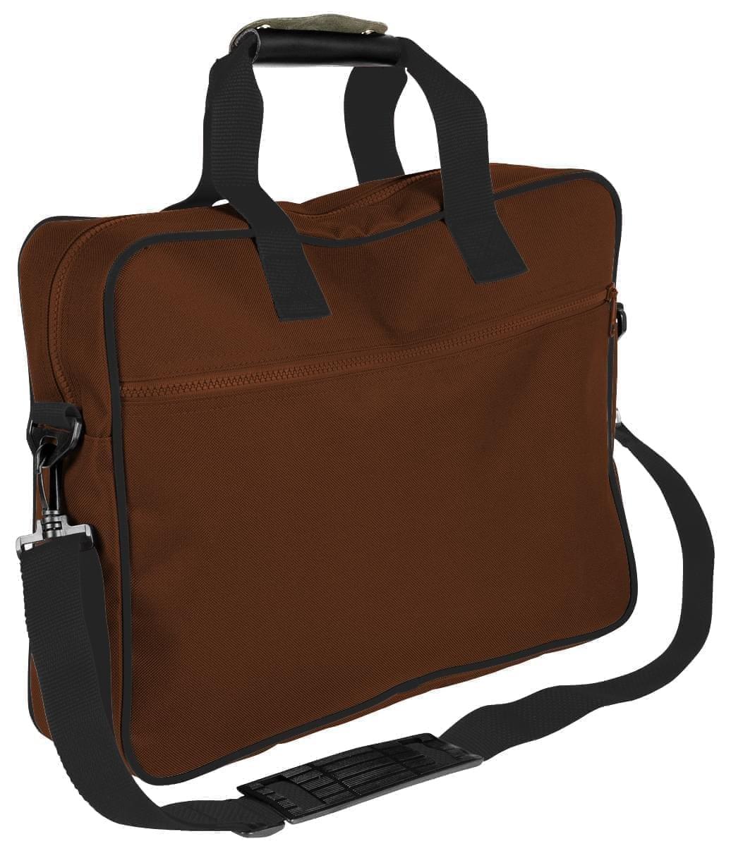USA Made Nylon Poly Notebook Sleeves, Brown-Black, CPKVA59PPR