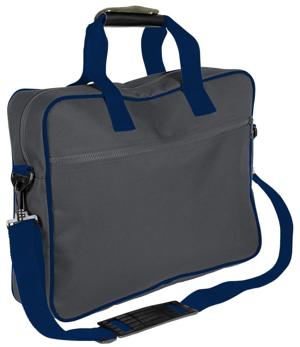 USA Made Nylon Poly Notebook Sleeves, Graphite-Navy, CPKVA59PRZ