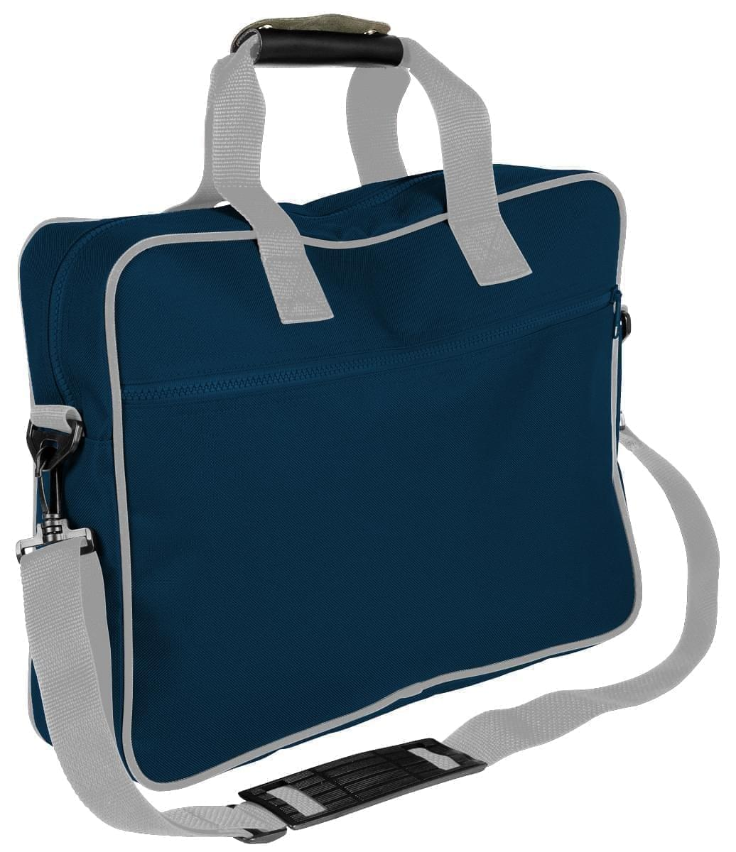 USA Made Nylon Poly Notebook Sleeves, Navy-Grey, CPKVA59PWU