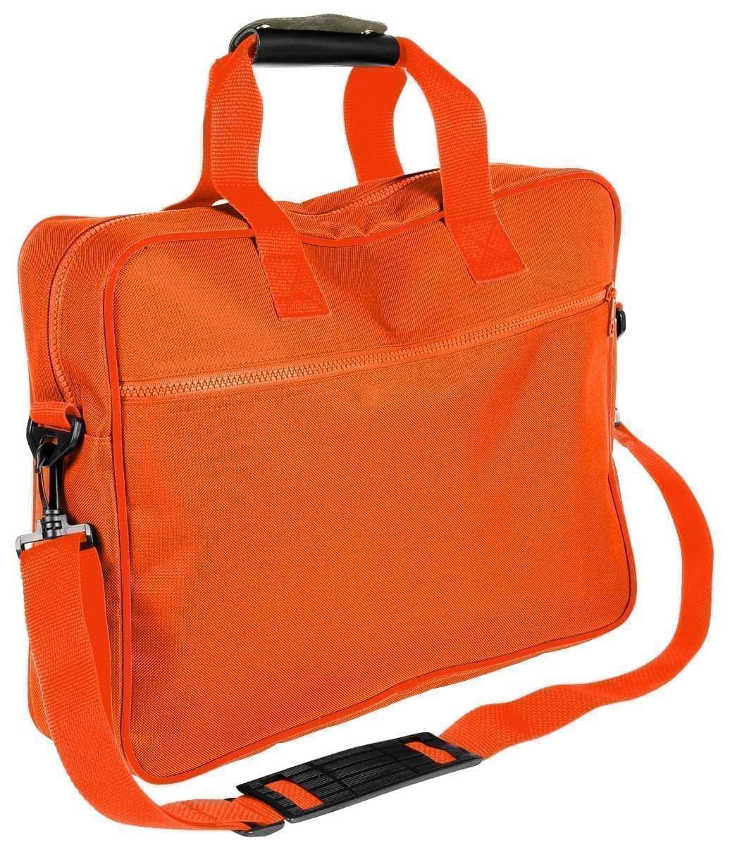 USA Made Nylon Poly Notebook Sleeves, Orange-Orange, CPKVA59PX0