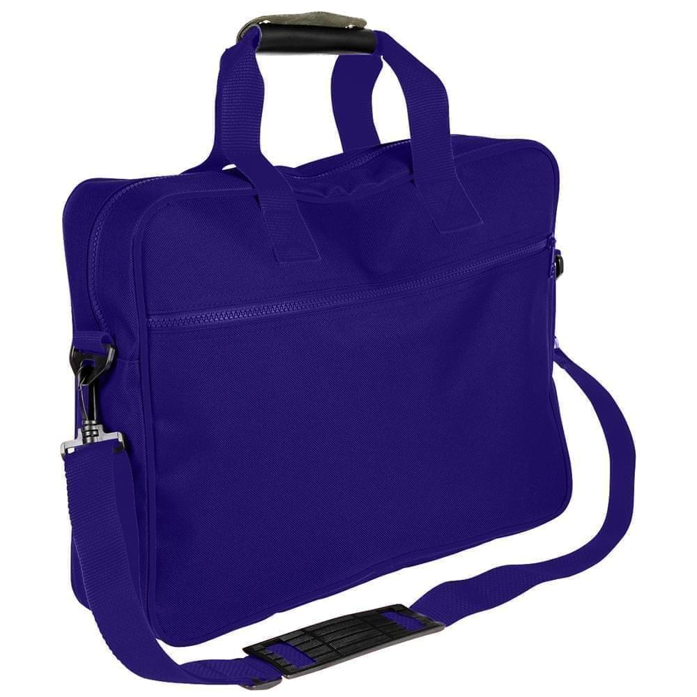 USA Made Nylon Poly Notebook Sleeves, Purple-Purple, CPKVA59PY1