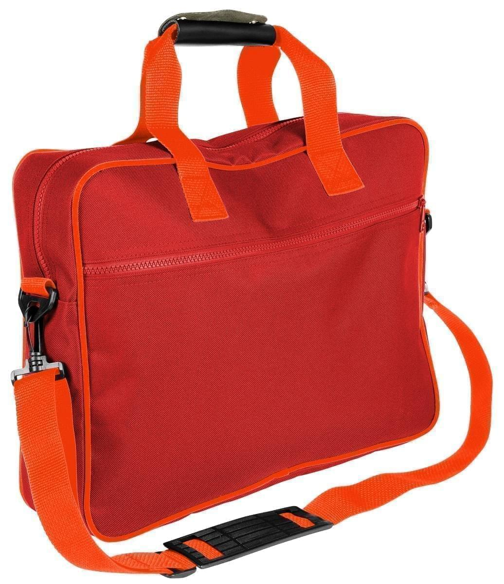 USA Made Nylon Poly Notebook Sleeves, Red-Orange, CPKVA59PZ0