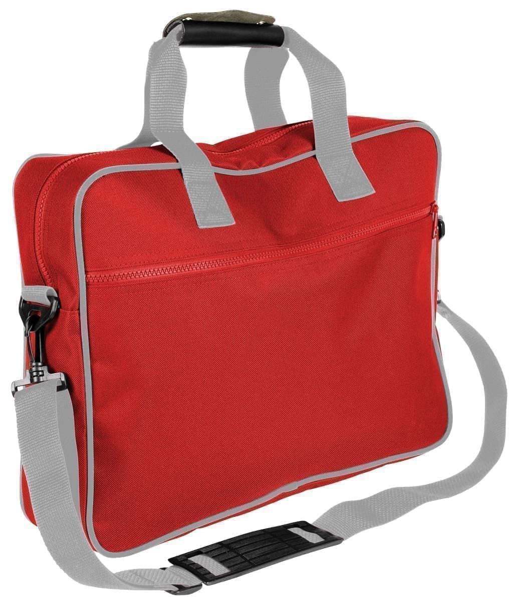 USA Made Nylon Poly Notebook Sleeves, Red-Grey, CPKVA59PZU