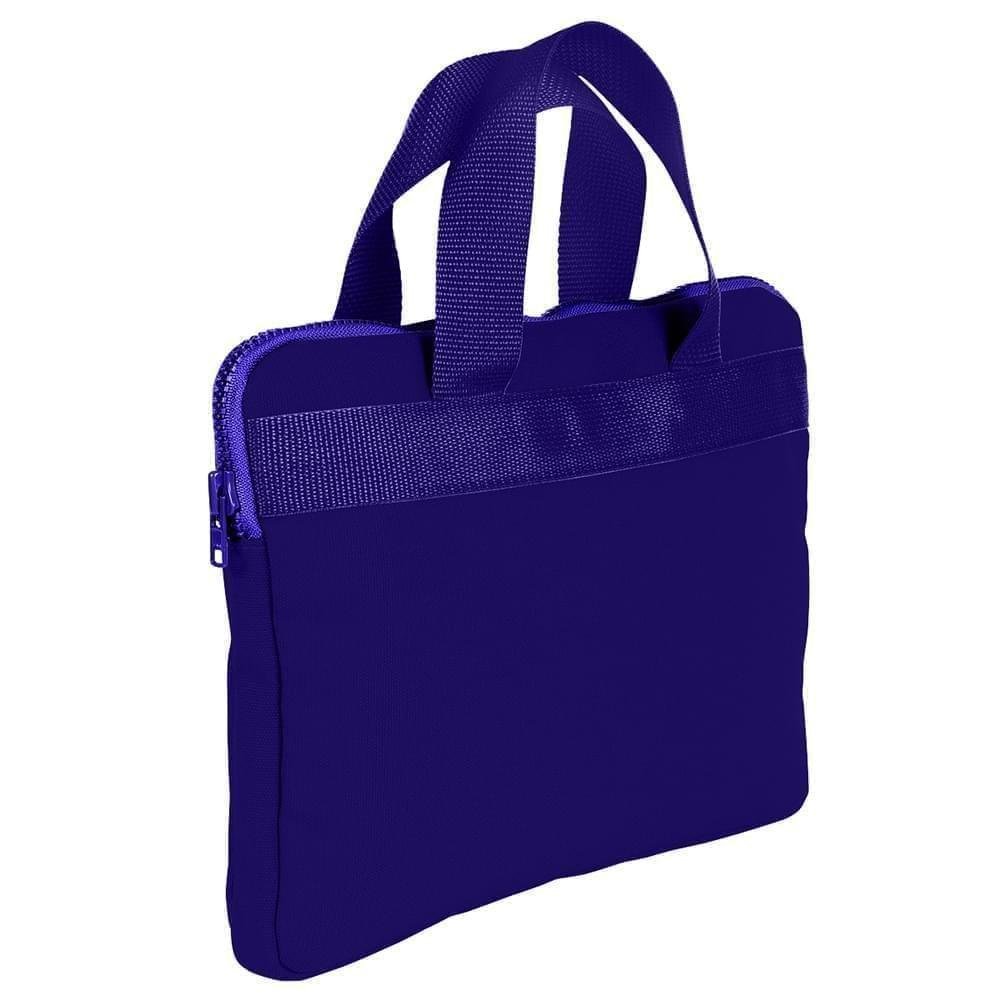 USA Made Nylon Poly Business Cases, Purple-Purple, DJAV319PY1