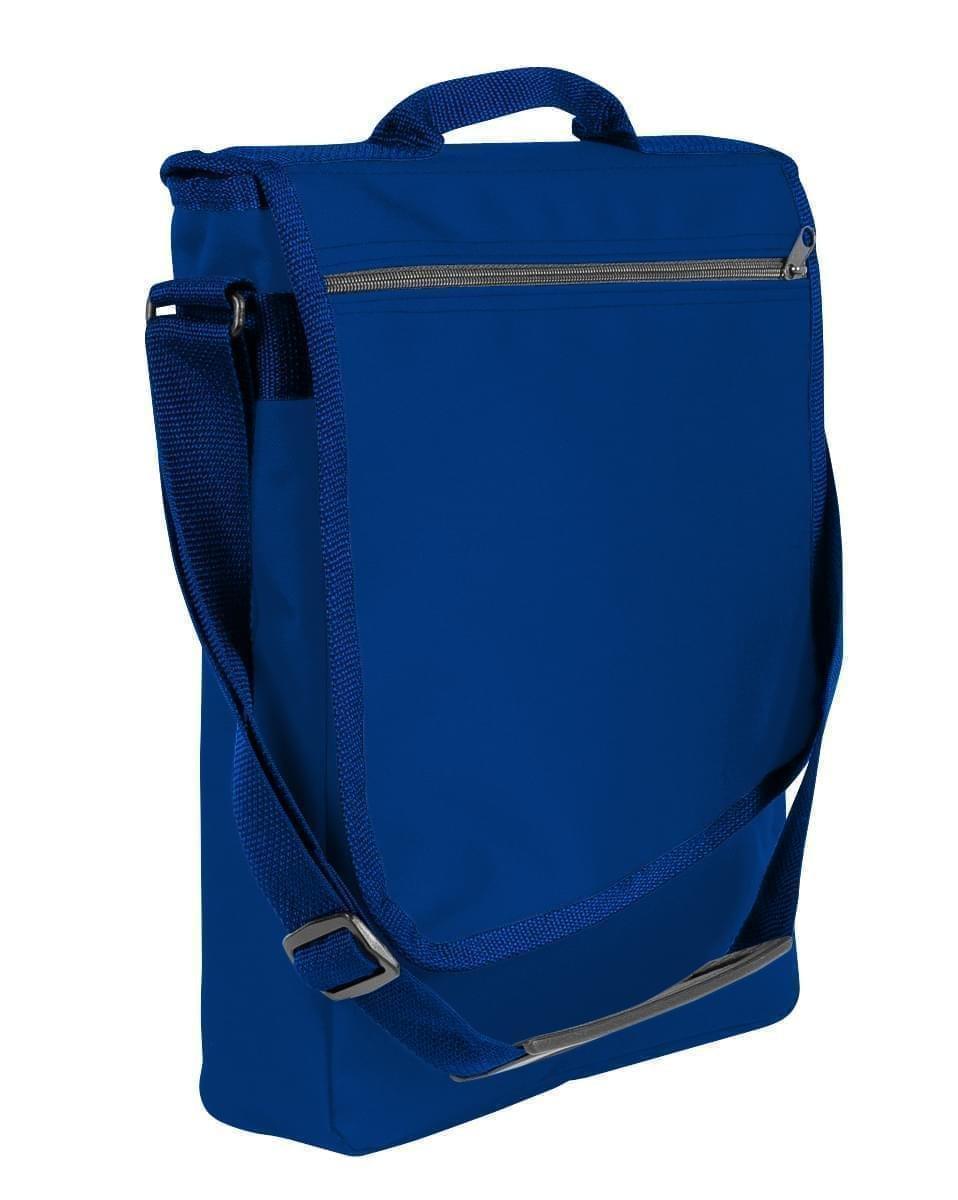 USA Made Nylon Poly Laptop Bags, Royal Blue-Navy, LHCBA29A0Z
