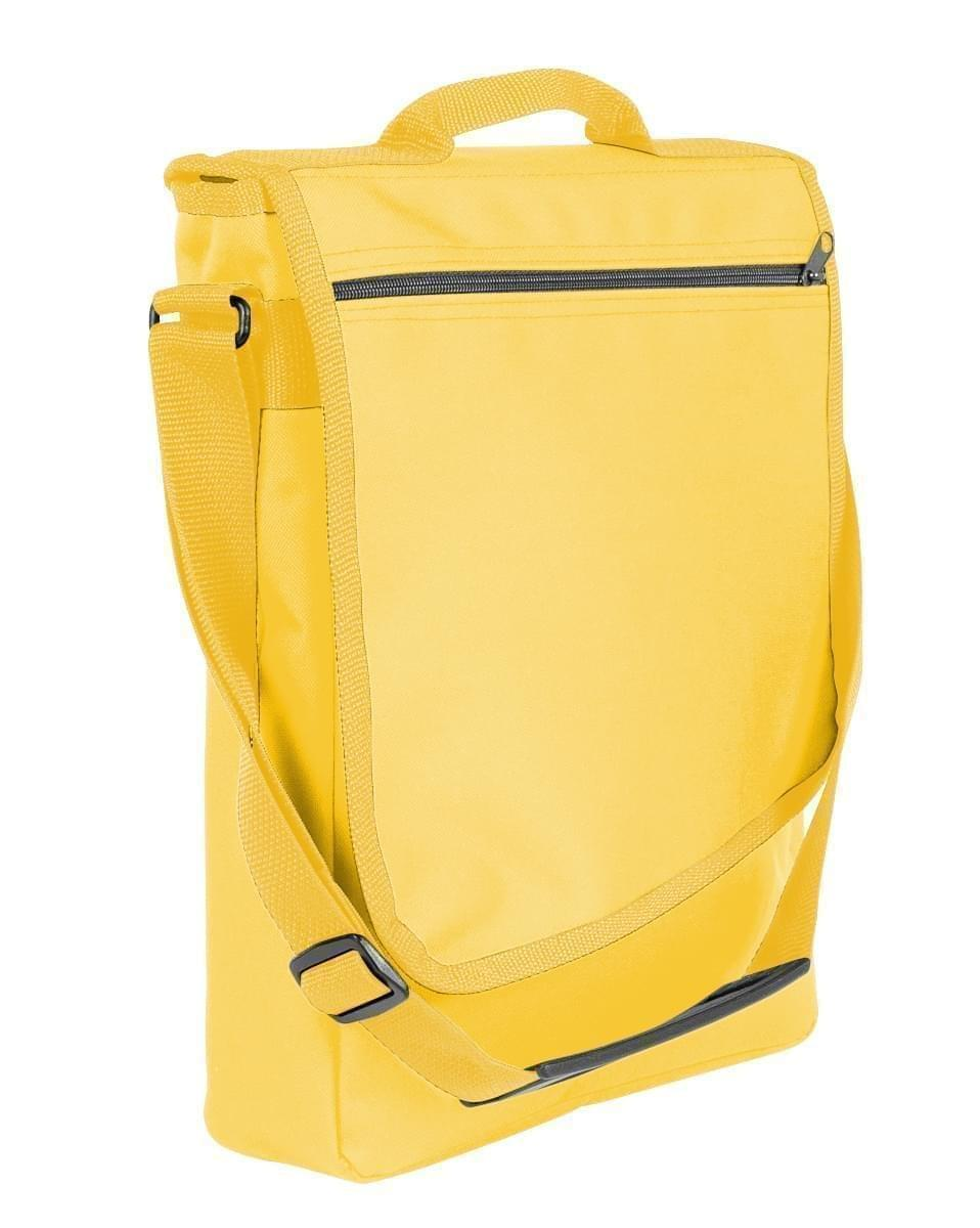 USA Made Nylon Poly Laptop Bags, Gold-Gold, LHCBA29A45