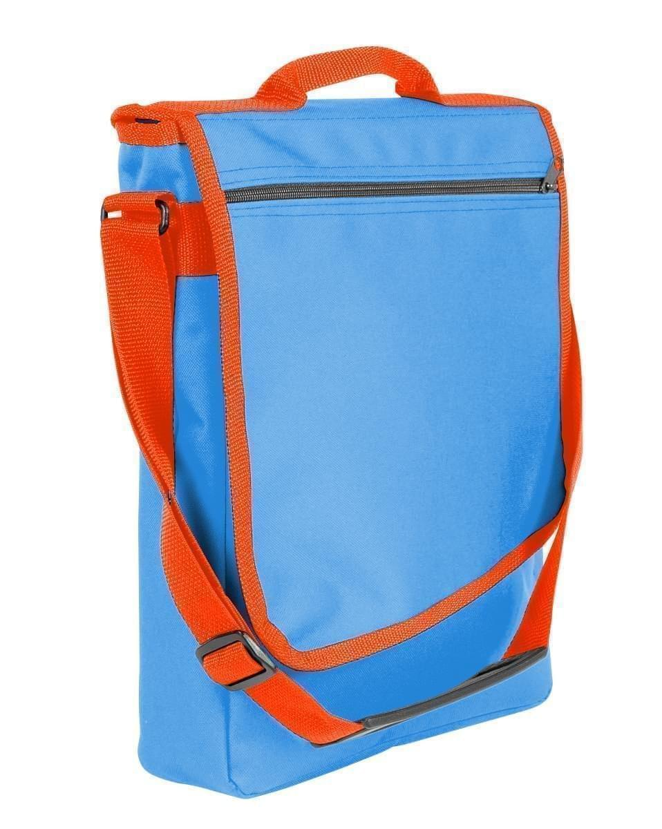 USA Made Nylon Poly Laptop Bags, Columbia-Orange, LHCBA29AU0