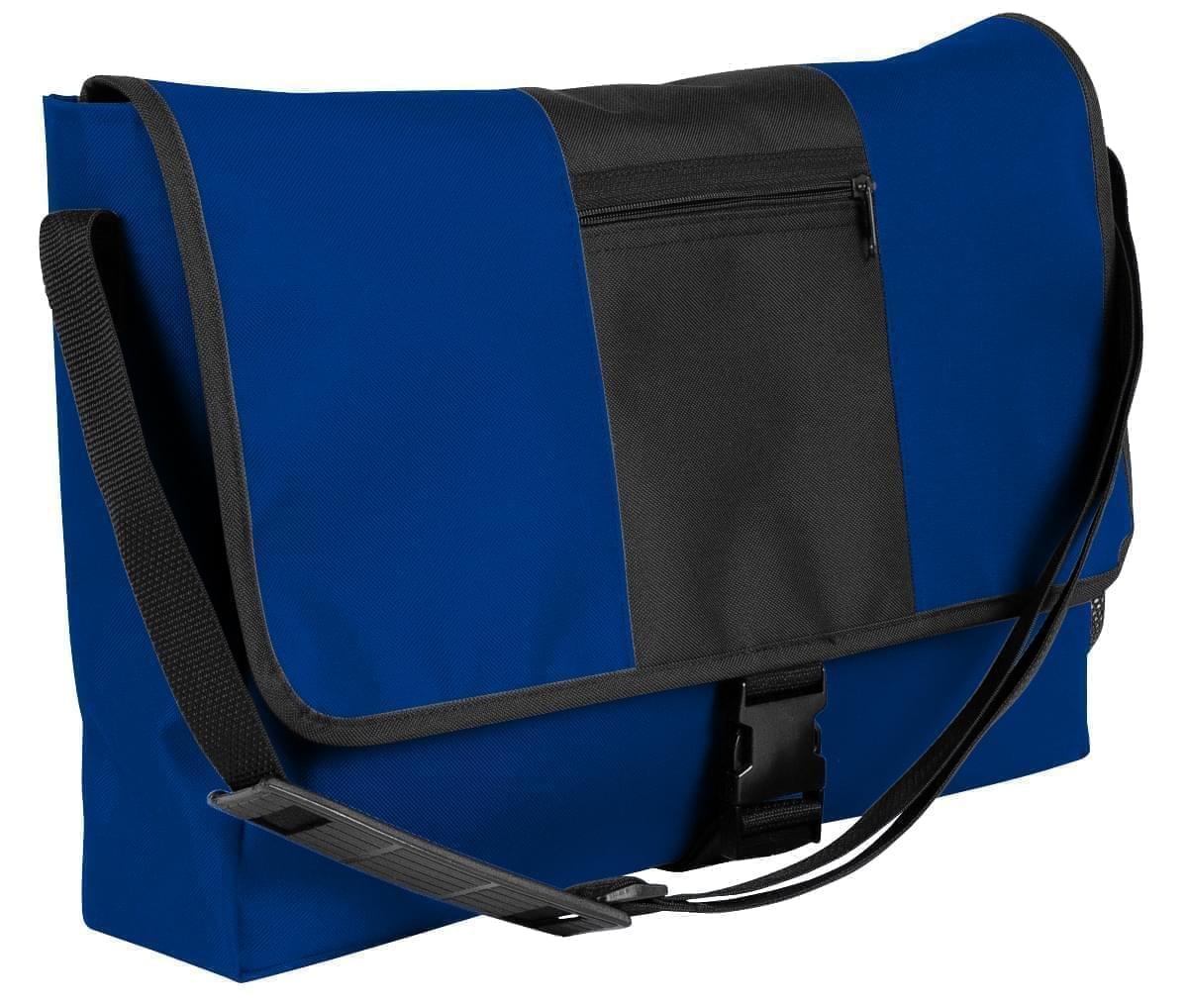 USA Made Nylon Poly Dad Shoulder Bags, Royal Blue-Black, OHEDA19A0C