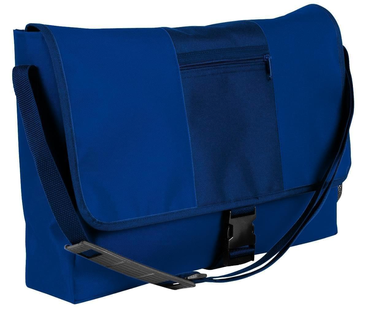 USA Made Nylon Poly Dad Shoulder Bags, Royal Blue-Navy, OHEDA19A0I