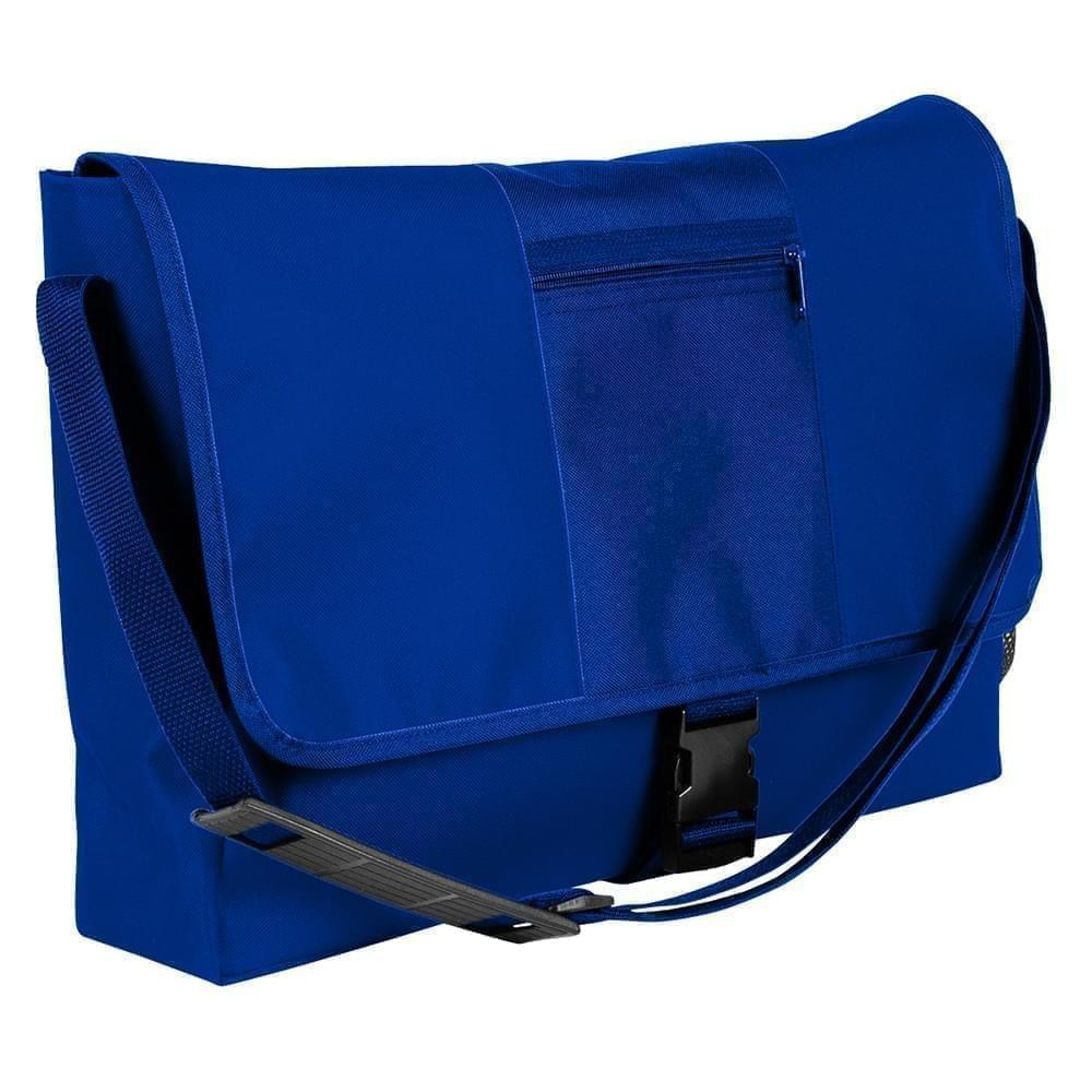 USA Made Nylon Poly Dad Shoulder Bags, Royal Blue-Royal Blue, OHEDA19A0M