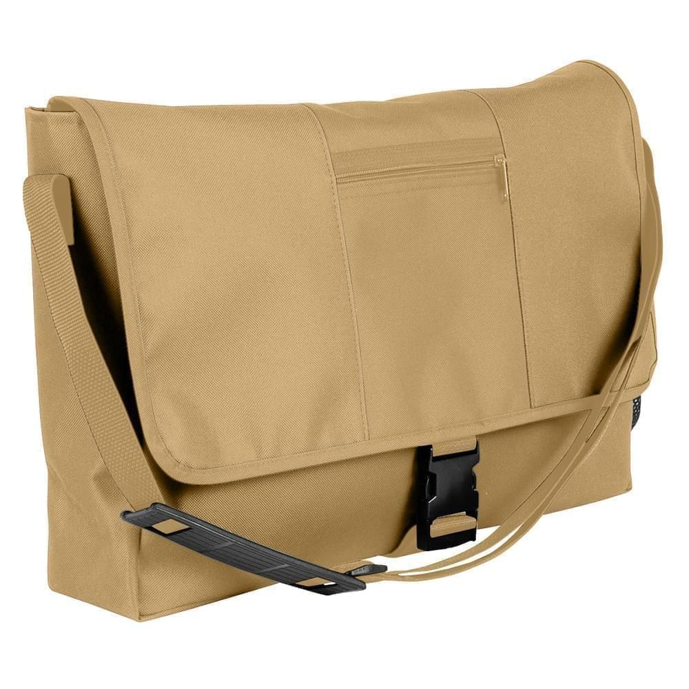 USA Made Nylon Poly Dad Shoulder Bags, Khaki-Khaki, OHEDA19A2X