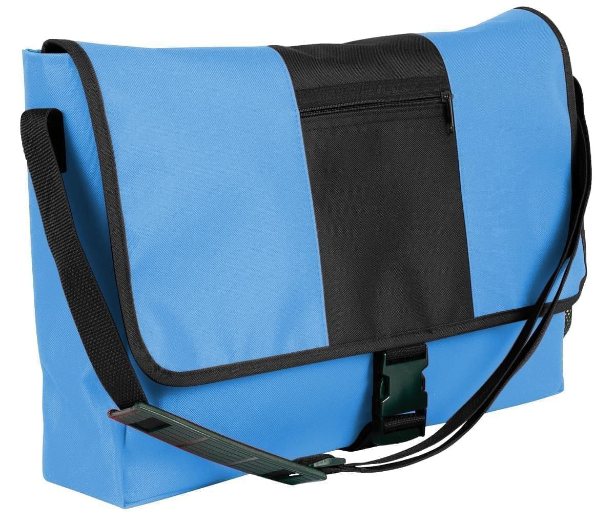 USA Made Nylon Poly Dad Shoulder Bags, Columbia-Black, OHEDA19AUC