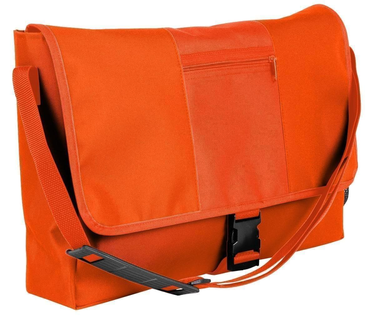 USA Made Nylon Poly Dad Shoulder Bags, Orange-Orange, OHEDA19AXJ