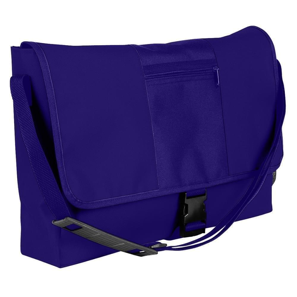 USA Made Nylon Poly Dad Shoulder Bags, Purple-Purple, OHEDA19AYK