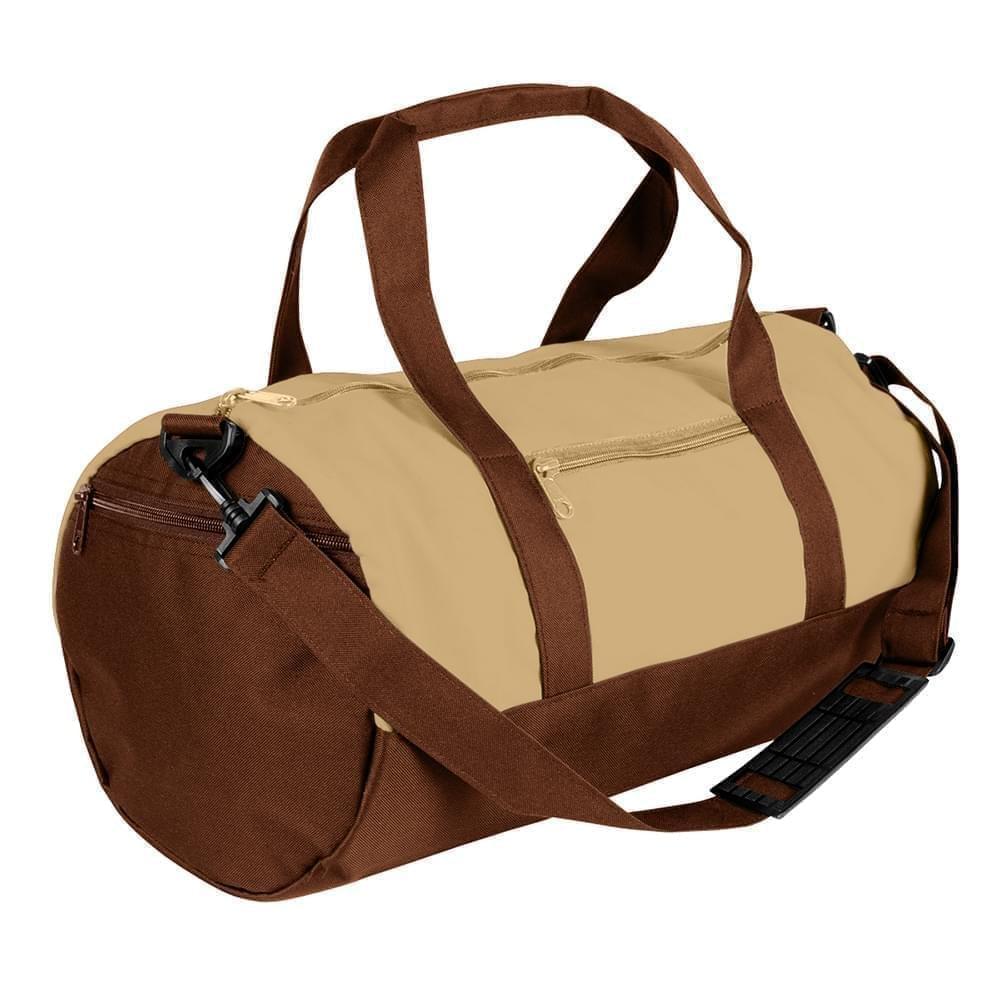 USA Made Canvas Equipment Duffle Bags, Khaki-Brown, PMLXZ2AAJD