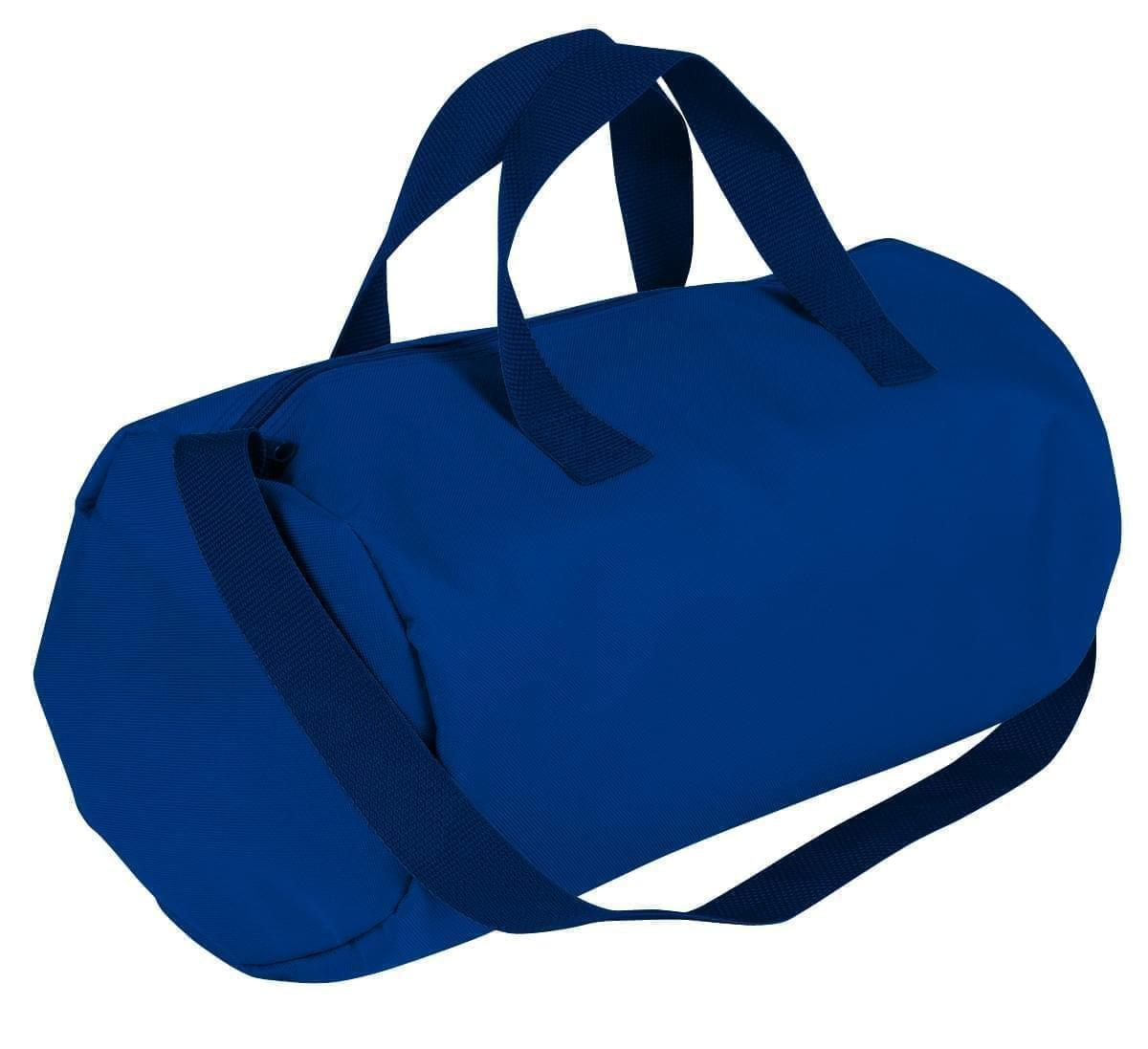 USA Made Nylon Poly Gym Roll Bags, Royal Blue-Navy, ROCX31AA0Z