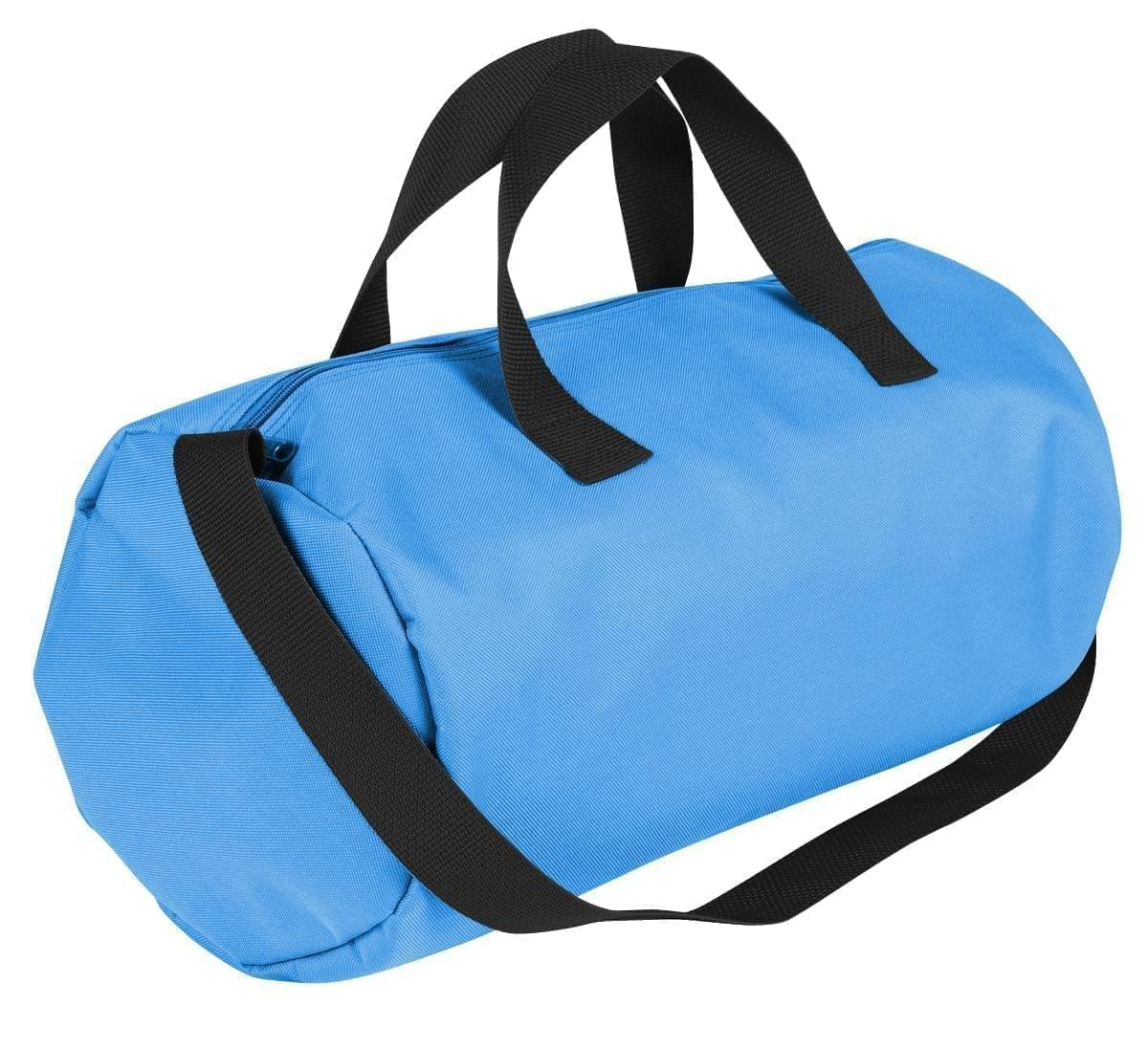 USA Made Nylon Poly Gym Roll Bags, Columbia-Black, ROCX31AAUR