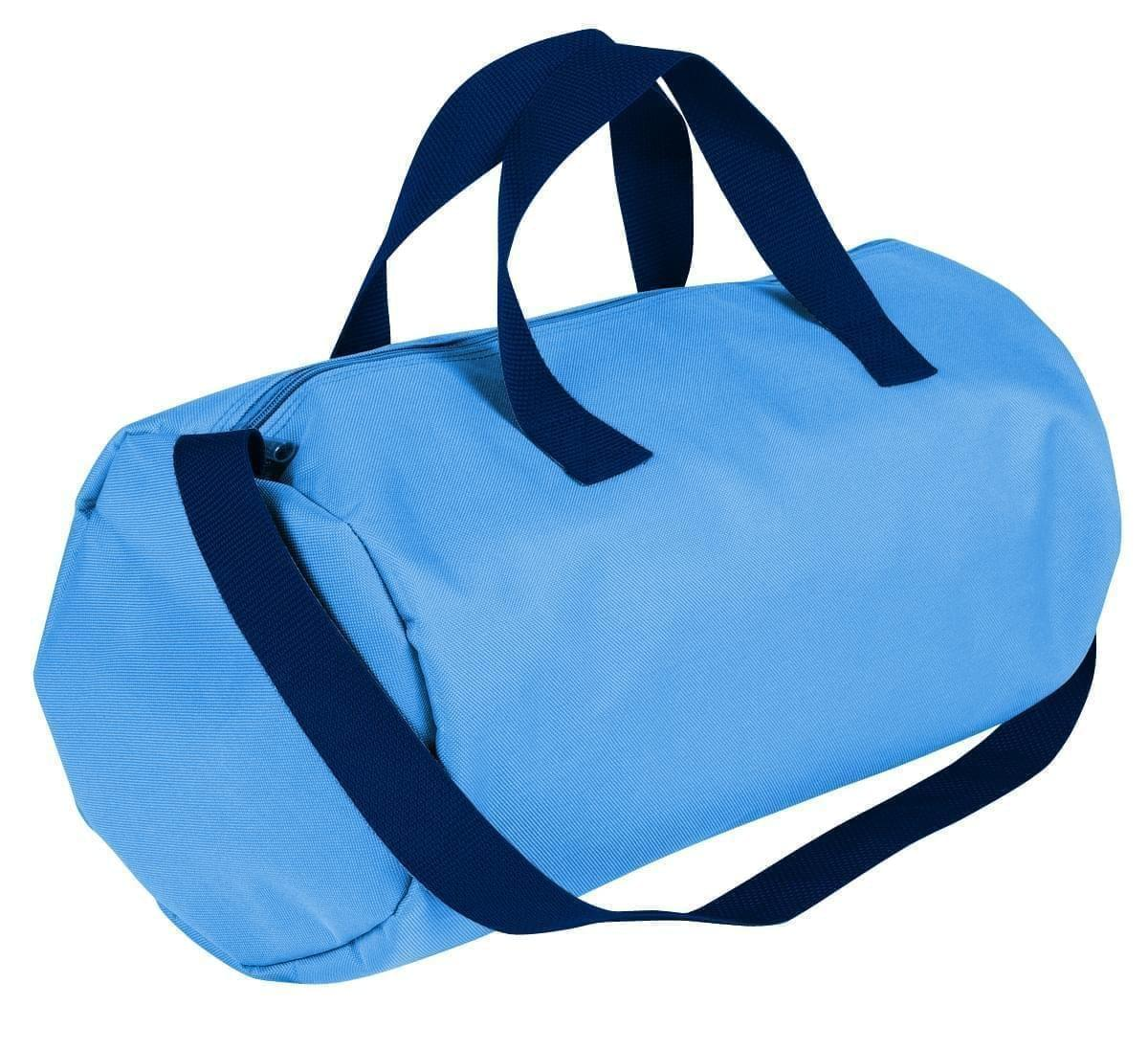 USA Made Nylon Poly Gym Roll Bags, Columbia-Navy, ROCX31AAUZ
