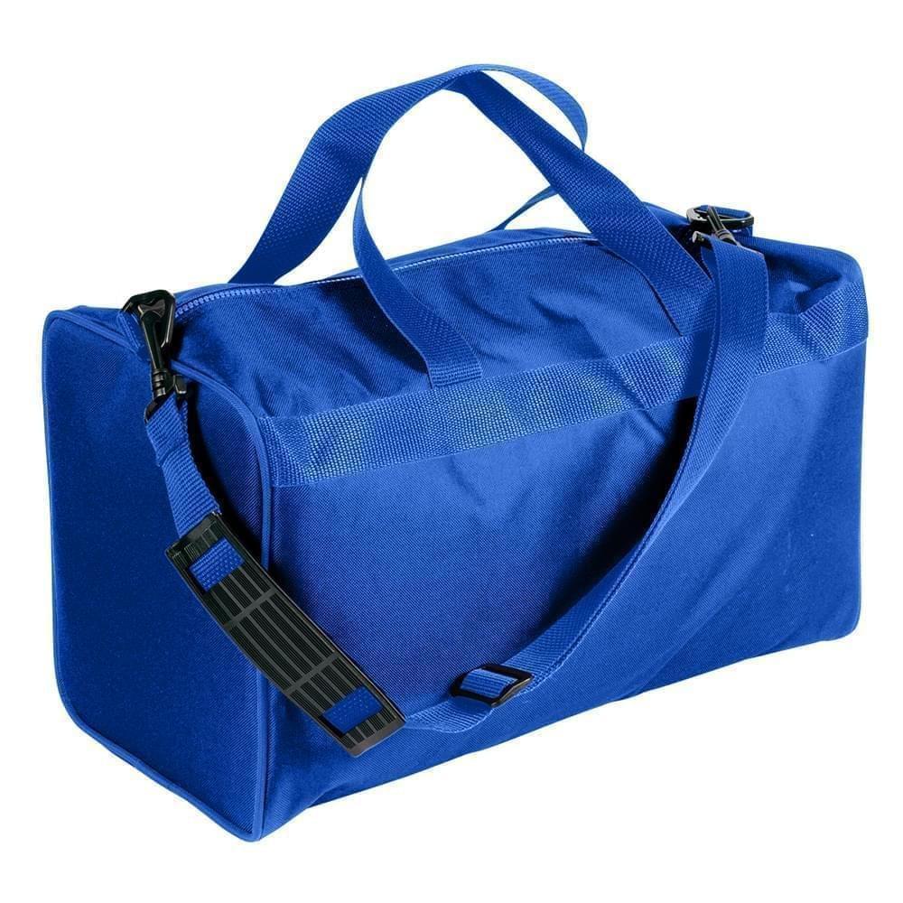 USA Made Nylon Poly Weekend Duffles, Royal Blue-Royal Blue, WLKX31AA03