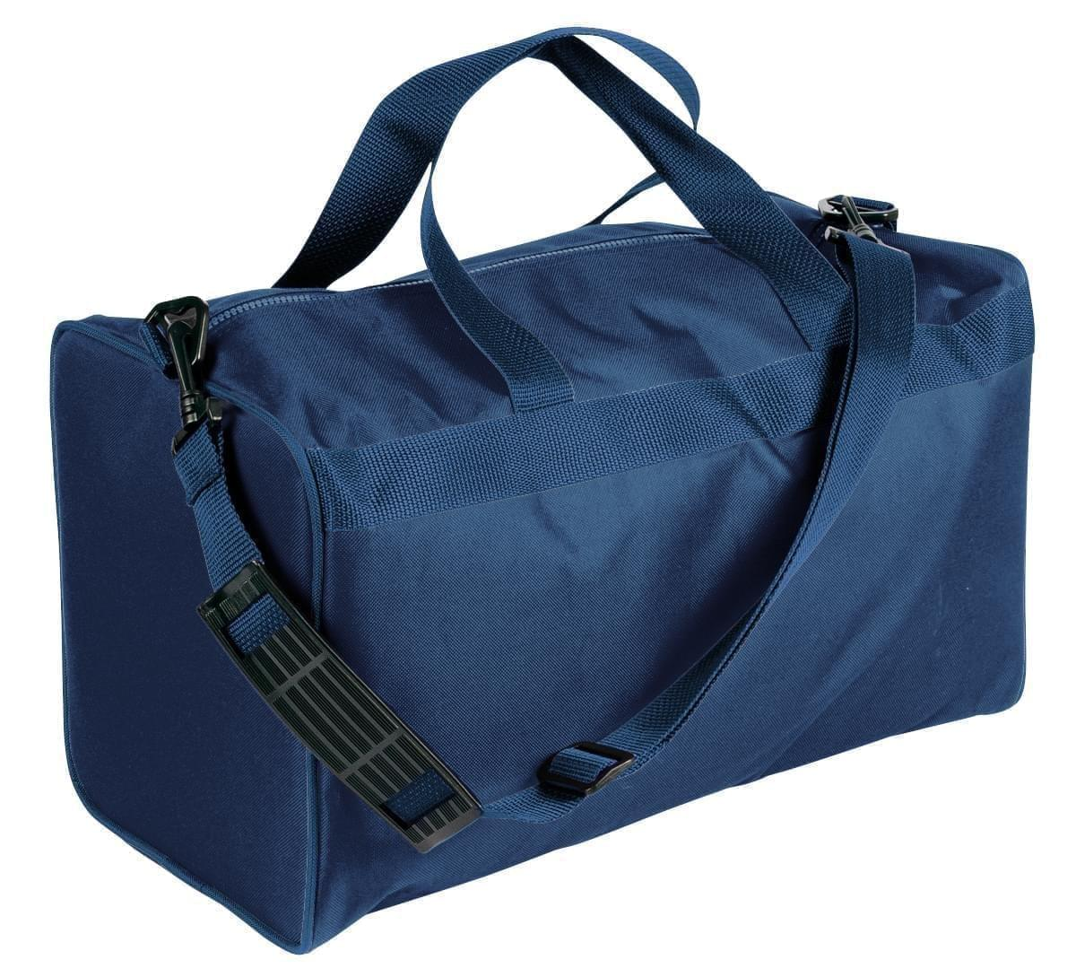 USA Made Nylon Poly Weekend Duffles, Navy-Navy, WLKX31AAWZ