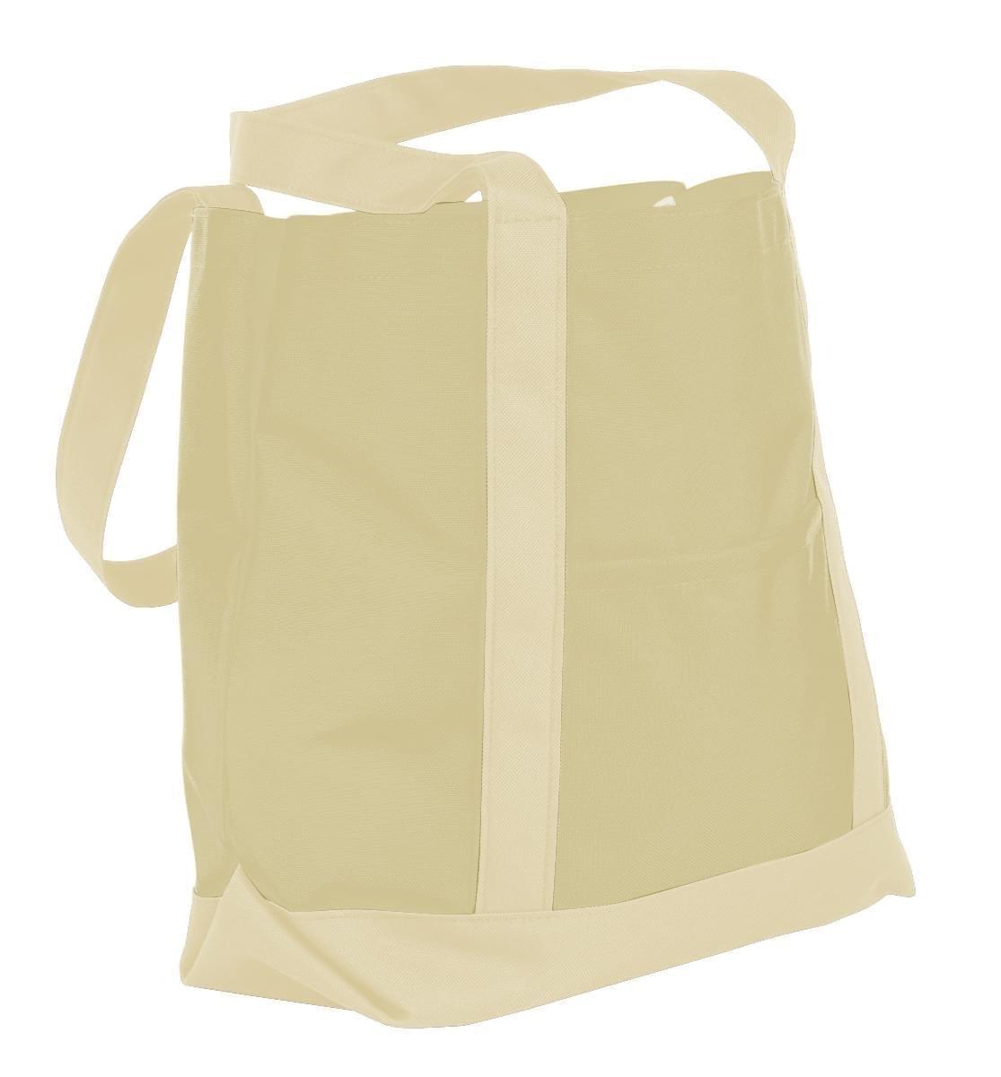 USA Made Canvas Fashion Tote Bags, Natural-Natural, XAACL1UAKA