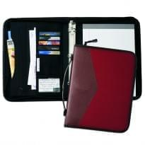 "Tribeca Dual Tone 1"" Zipper Ring Binder with Handle"