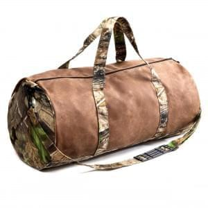 USA Made Waxed Canvas RealTree Duffels, 8006533-03