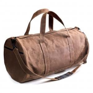 USA Made Waxed Canvas Medium Duffels, 8006533