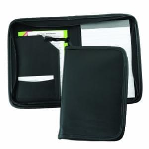 Leather Junior Zipper Folder