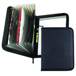 Accordion Zipper Folder