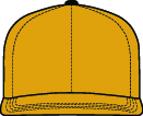 Flat Brim High Crown Hats Image Model
