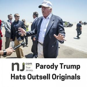 Parody Trump Hats Outsell Originals